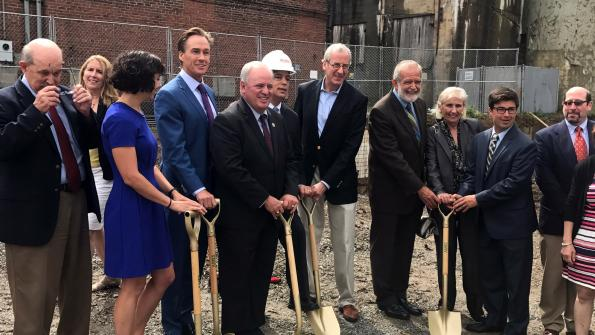 Congressman Doyle joins Action Housing in breaking ground for Krause Commons in Squirrel Hill